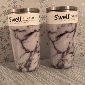 Set of 2 tumbler S'well with leads (18 oz)